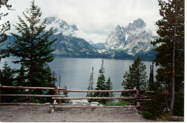 Gran teton lake